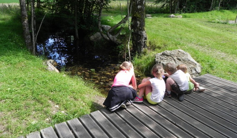 Enfants au parc de Wesserling