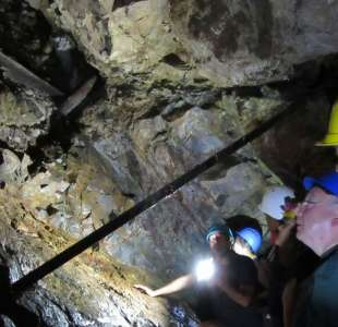 Discovery of silver mines