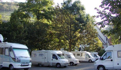 Camper van areas